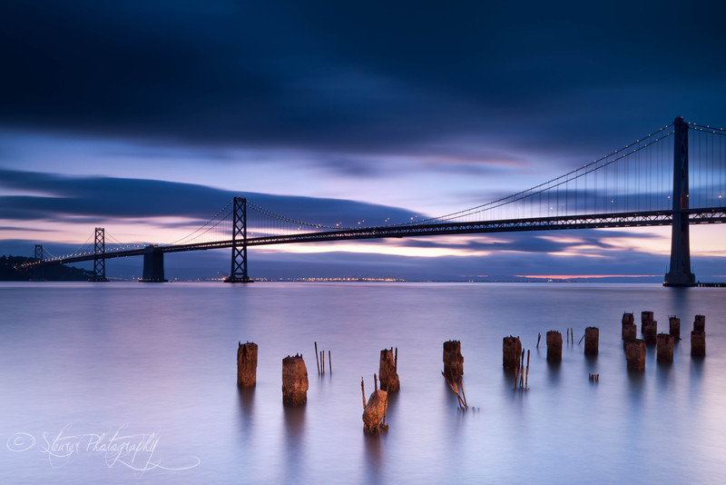 Peacful morning - Bay Bridge, San Francisco, CA
