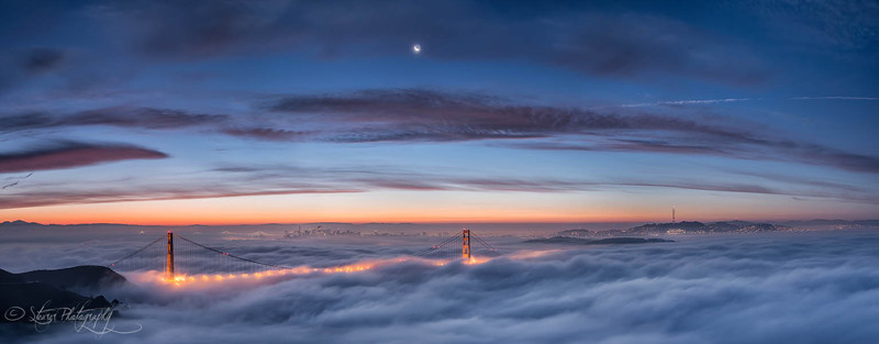 Walking on clouds - San Francisco, CA