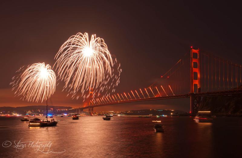 Orange forever - 75th anniversary 2012, San Francisco, CA