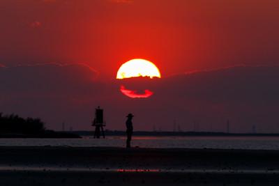 Cowboy Sunset.
