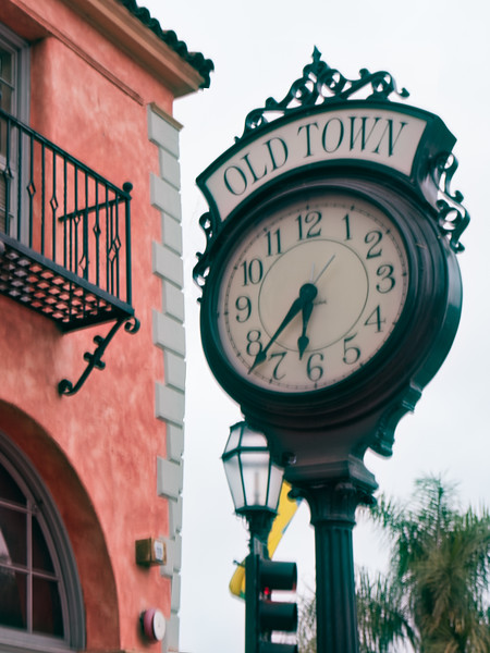 The Old Town Clock, Santa Barbara