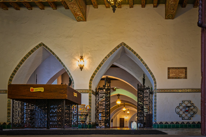 Interior of Santa Barbara County Courthouse