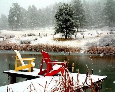 Snowy Dock - Pagosa Springs, Colorado ORDER #811278
