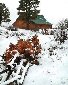 Wintery Barn - Pagosa Springs, Co. ORDER #811276