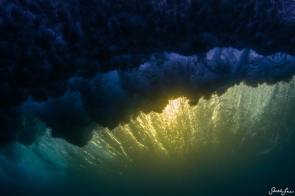 subsea sunset