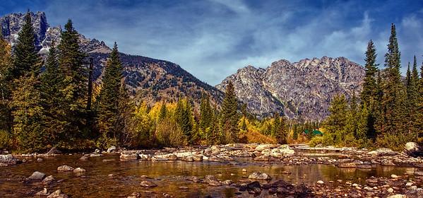 Teton Mountain Stream