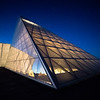 United States Air Force Academy Polaris Hall in the Blue Hour # 1