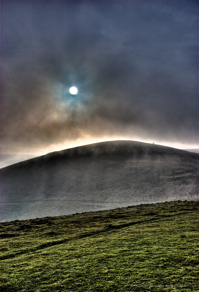 Ghostly Downs, Wiltshire England