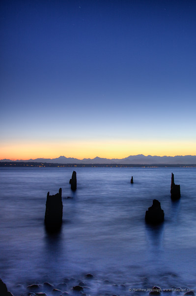 """HDR """"Tone Mapping"""" Seattle """"Golden Gardens""""  """"Puget Sound"""" DeadPier"""