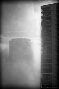 Towers in Fog