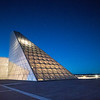 United States Air Force Academy Polaris Hall in the Blue Hour # 2
