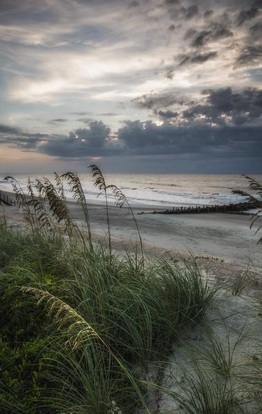 The beach at Pawleys Island, SC at dawn #1