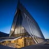 United States Air Force Academy Cadet Chapel in the Blue Hour # 2