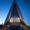 United States Air Force Academy Cadet Chapel in the Blue Hour # 5