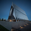 United States Air Force Academy Cadet Chapel in the Blue Hour # 4
