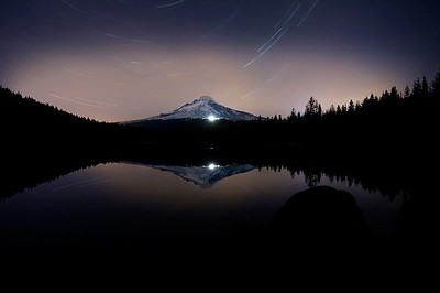 Trillium Lake Star Trails