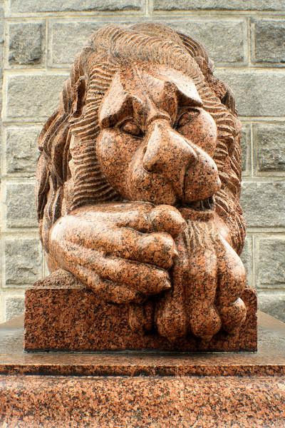 Memorial Arch of Tilton,  Lion<br /> Northfield, NH