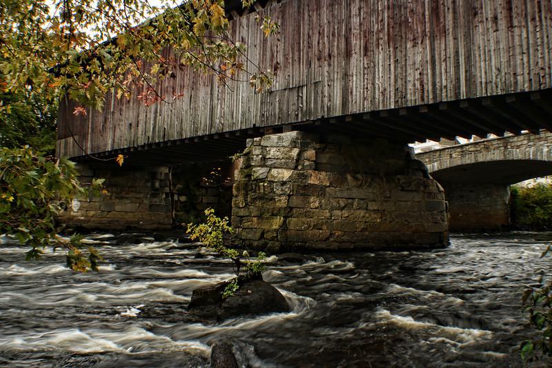 Railroad Covered Bridge,<br /> Hopkinton, NH