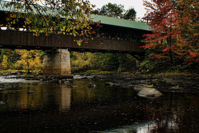 Rowell Covered Bridge 2,<br /> Hopkinton, NH