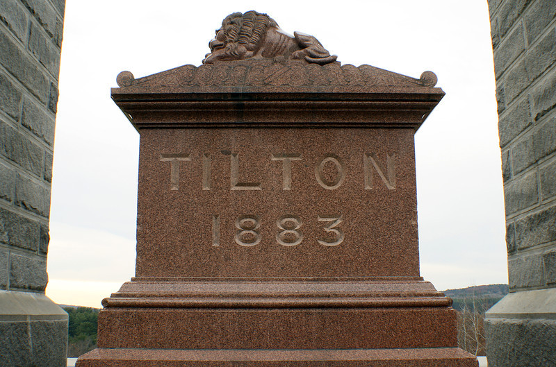 Memorial Arch of Tilton, Sarcophagus<br /> Northfield, NH