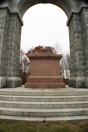 Memorial Arch <br /> Northfield, NH<br /> Vertical