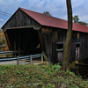 Dalton Covered Bridge, South Side,<br /> Warner, NH