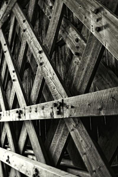 Ribs<br /> Railroad Covered Bridge,<br /> Hopkinton, NH