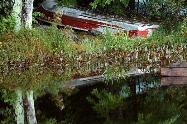 Saltmarsh Pond - Rowboat<br /> Gilford, NH