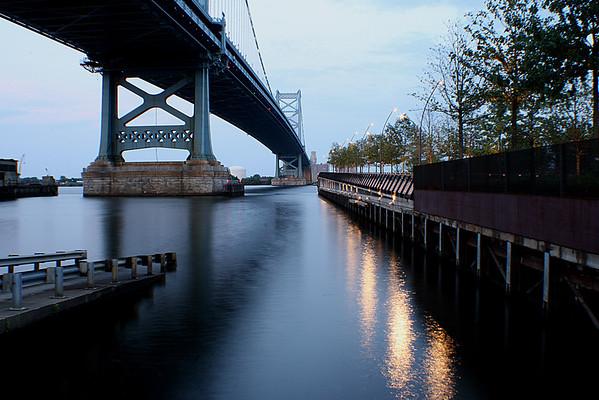 Ben Franklin Bridge<br /> Philadelphia, PA