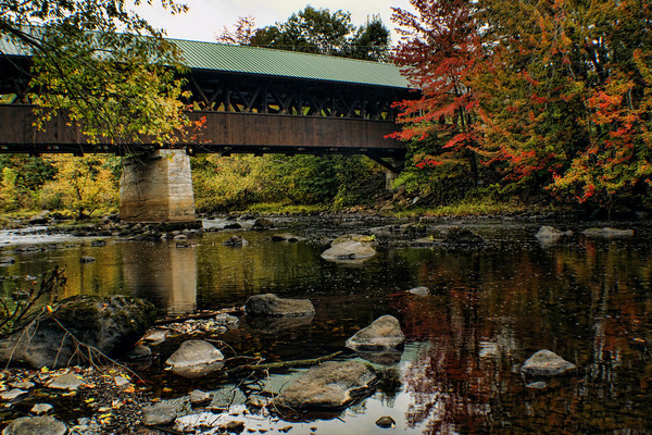 Rowell Covered Bridge,<br /> Hopkinton, NH