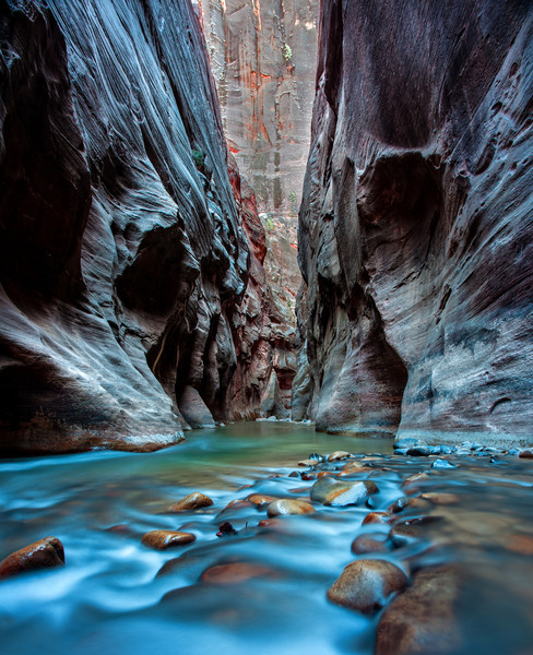 """The Narrows"" - Zion National Park, Utah"