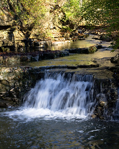 Lower Falls at Cove Spring