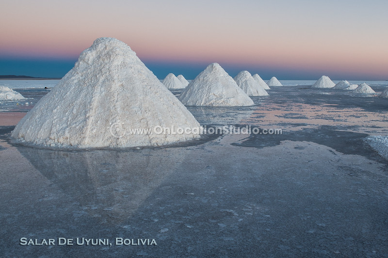 Salt Flats of Salar de Uyuni