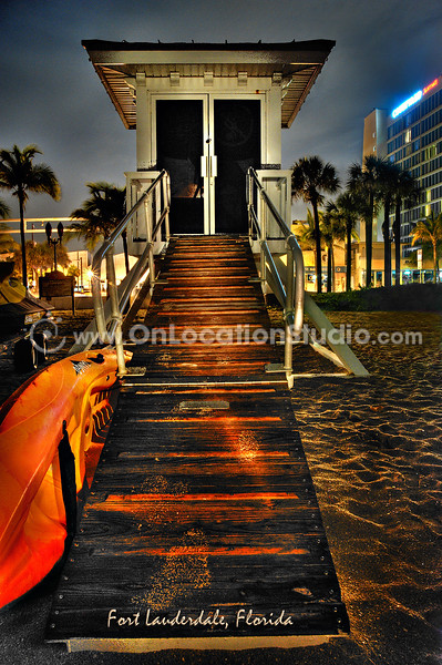 Lifeguard Stand, Fort Lauderdale Beach