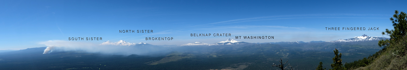Black Butte  summit View