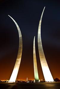 Air Force Memorial, Washington DC (Virginia actually) , Aspect Photography www.aspect-photo.com
