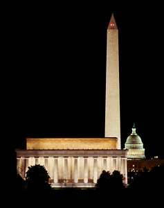 Washington DC, view from the Iwo Jima Memorial  Aspect Photography www.aspect-photo.com www.aspect-photo.com