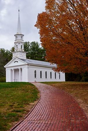 Martha Mary Chapel, Wayside Inn, Sudbury Massachusetts