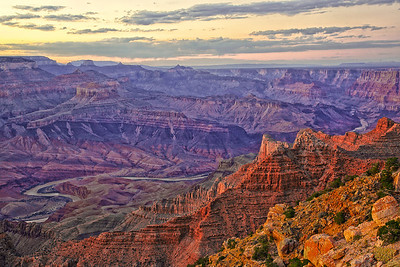 Pre-Sunset at Grand Canyon