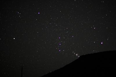 Orion Sleeping
