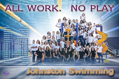 JHS Swim Poster proof