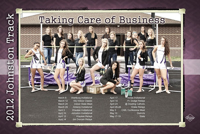 JHS Girls Track Poster Proof