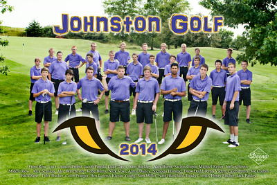 Golf poster proof