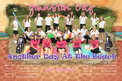 JHS Girls golf Poster proof