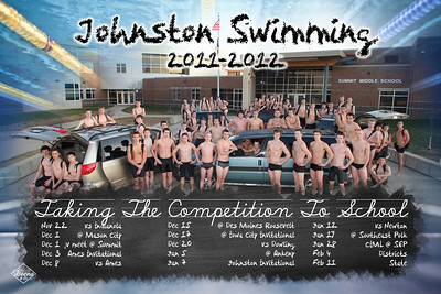 JHS Boys Swimming Poster proof