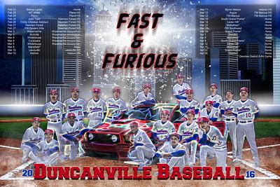 2016 DHS Baseball Poster