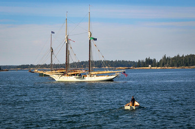Yawl Returning to the Mary Day