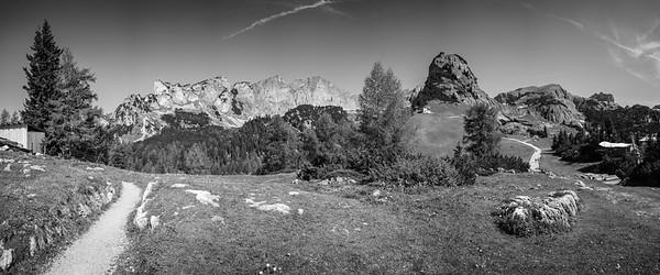 Rofan Gebirge, Maurach, Tirol, Österreich