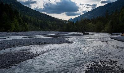 Neidernach bei Garmisch-Partenkirchen, Oberbayern, Bayern, Deutschland