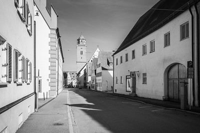 Heilig-Kreuz-Str., Donauwörth, Bayern, Deutschland